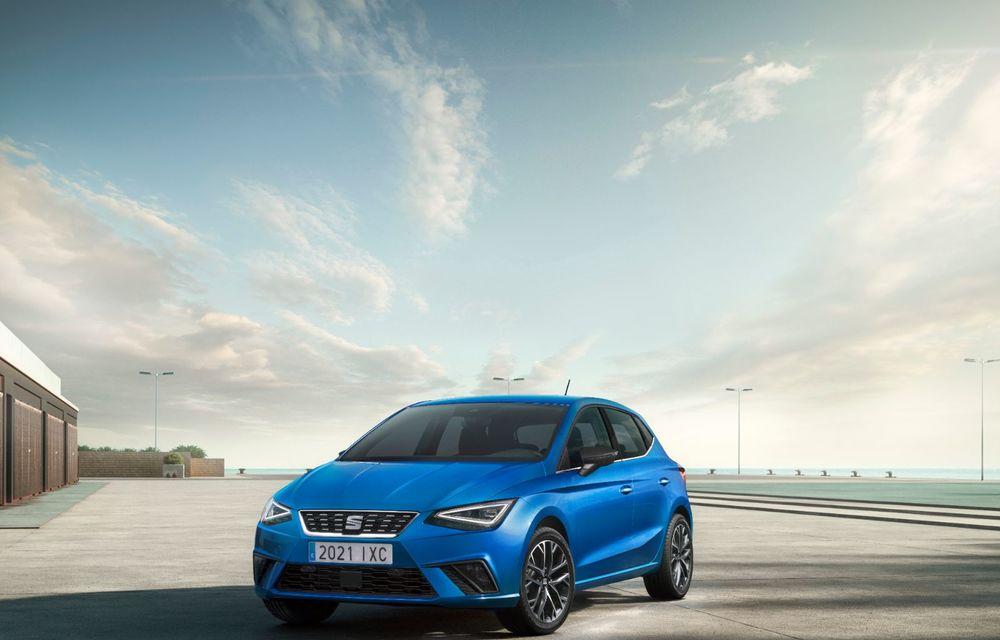 Seat a prezentat Ibiza facelift: modificări de design, noutăți la interior și motorizări pe benzină - Poza 14