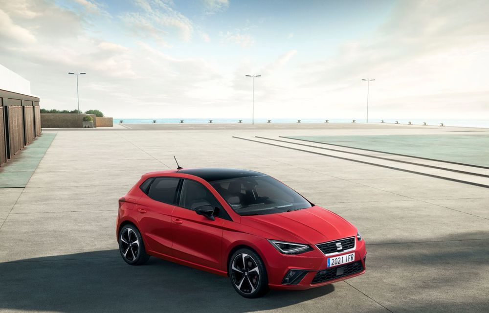 Seat a prezentat Ibiza facelift: modificări de design, noutăți la interior și motorizări pe benzină - Poza 3