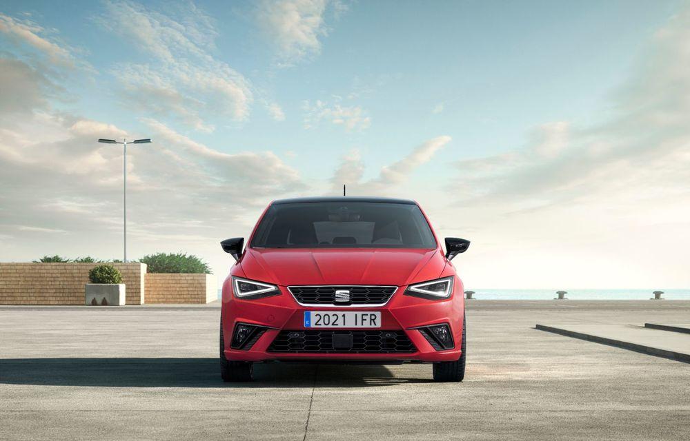 Seat a prezentat Ibiza facelift: modificări de design, noutăți la interior și motorizări pe benzină - Poza 4