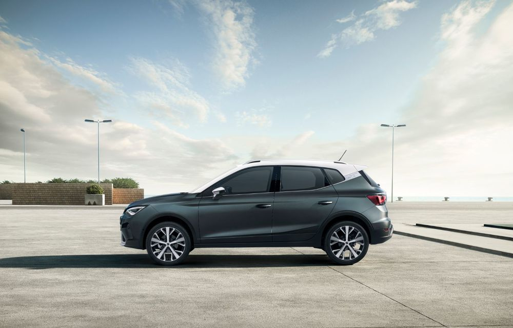 Seat Arona facelift vine cu un design ușor modificat și oferă până la 150 de cai putere - Poza 4