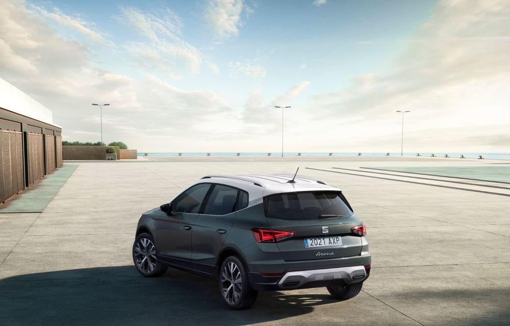 Seat Arona facelift vine cu un design ușor modificat și oferă până la 150 de cai putere - Poza 6