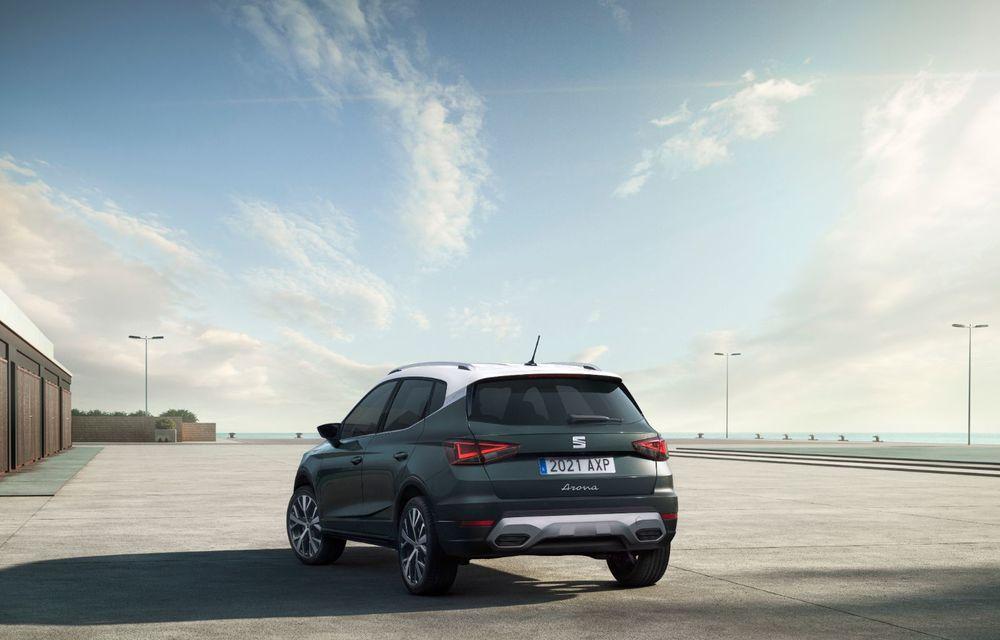 Seat Arona facelift vine cu un design ușor modificat și oferă până la 150 de cai putere - Poza 7