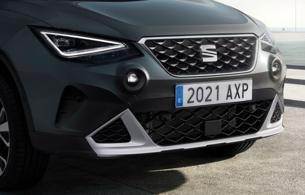 Seat Arona facelift vine cu un design ușor modificat și oferă până la 150 de cai putere - Poza 9
