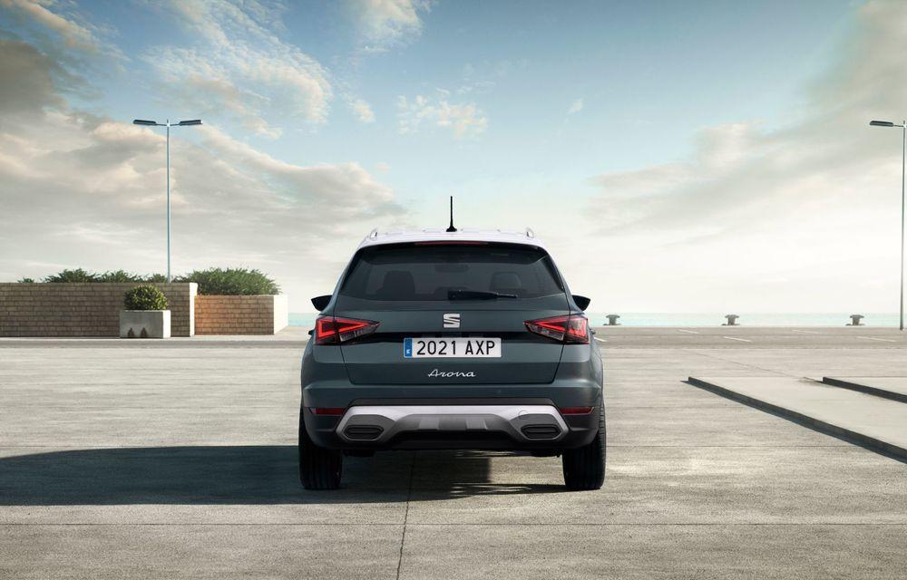 Seat Arona facelift vine cu un design ușor modificat și oferă până la 150 de cai putere - Poza 5
