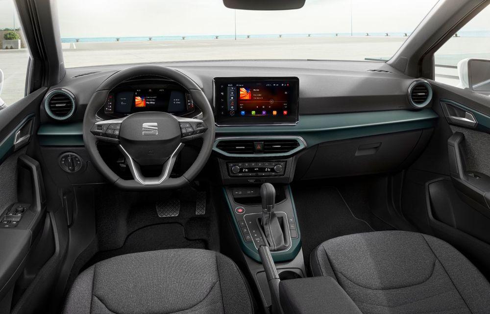 Seat Arona facelift vine cu un design ușor modificat și oferă până la 150 de cai putere - Poza 13
