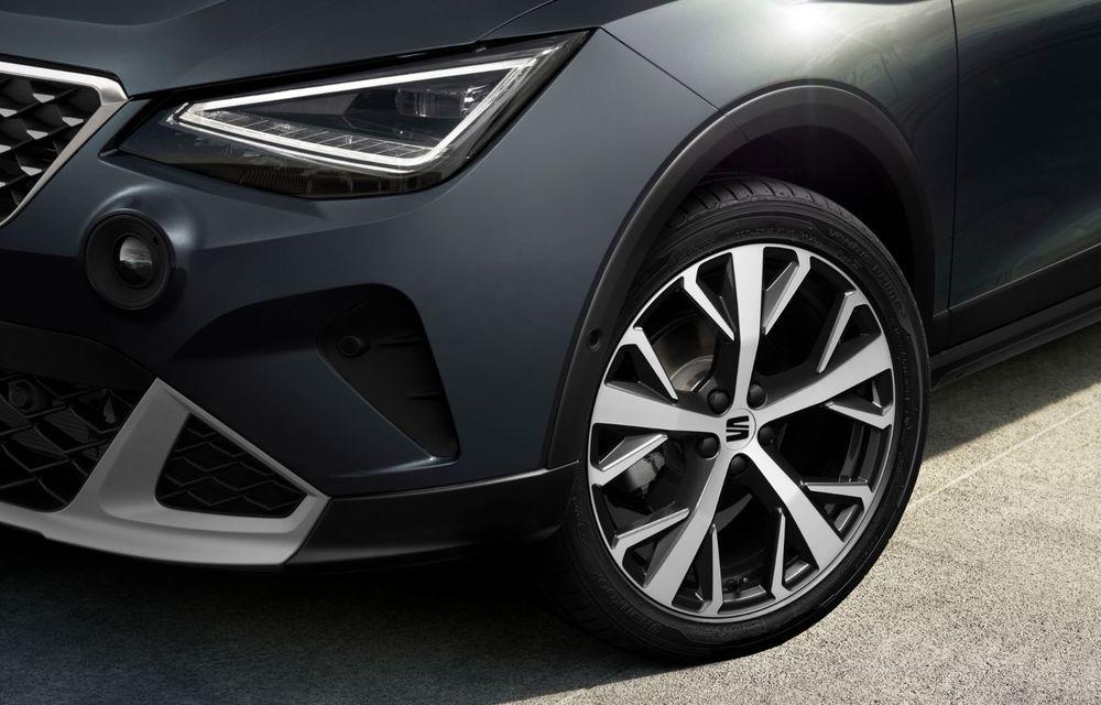 Seat Arona facelift vine cu un design ușor modificat și oferă până la 150 de cai putere - Poza 8