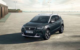 Seat Arona facelift vine cu un design ușor modificat și oferă până la 150 de cai putere