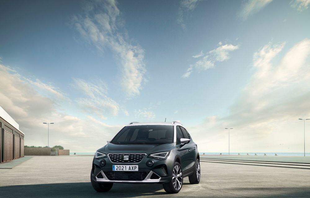 Seat Arona facelift vine cu un design ușor modificat și oferă până la 150 de cai putere - Poza 2
