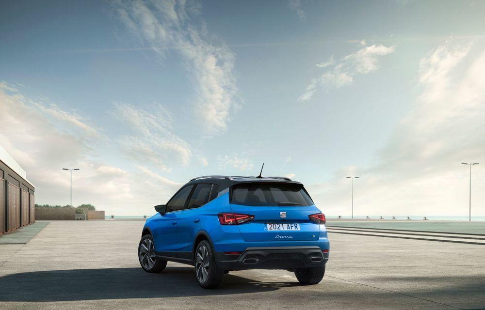 Seat Arona facelift vine cu un design ușor modificat și oferă până la 150 de cai putere - Poza 16