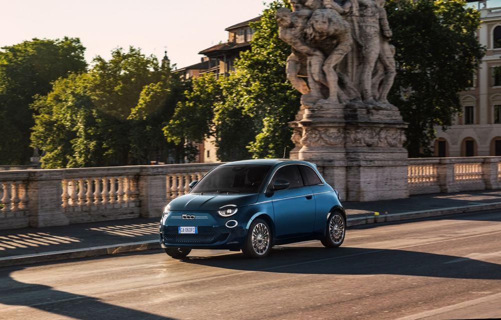 Vânzări sub așteptări pentru Fiat 500 electric. Italienii lucrează la o variantă cargo - Poza 1