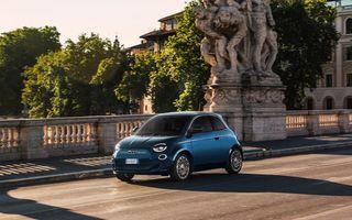 Vânzări sub așteptări pentru Fiat 500 electric. Italienii lucrează la o variantă cargo