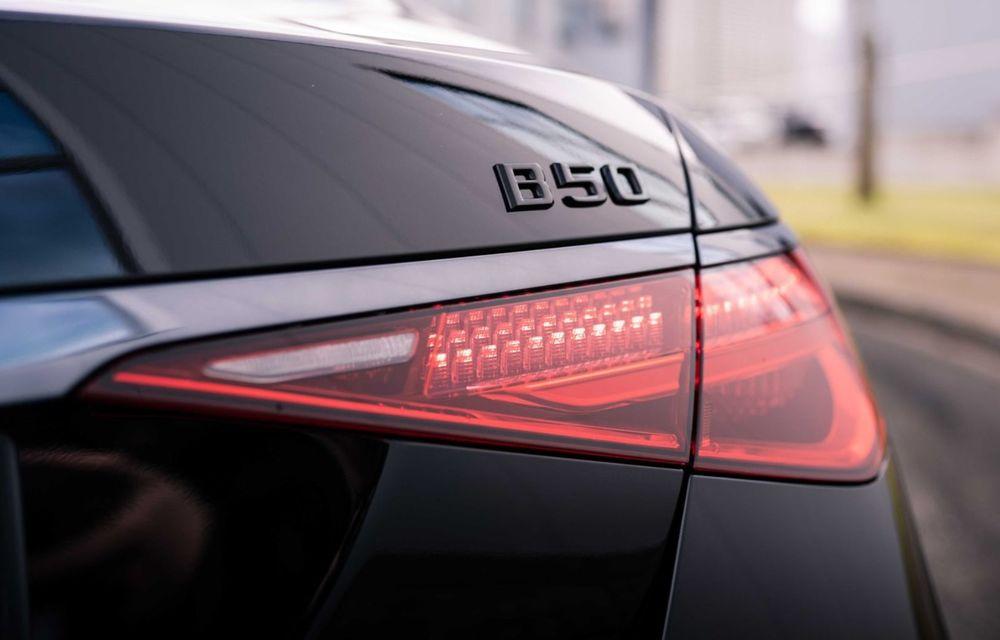 Brabus semnează primul pachet de modificări pentru noul Mercedes-Benz Clasa S - Poza 8