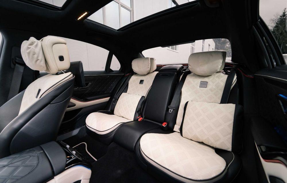 Brabus semnează primul pachet de modificări pentru noul Mercedes-Benz Clasa S - Poza 12