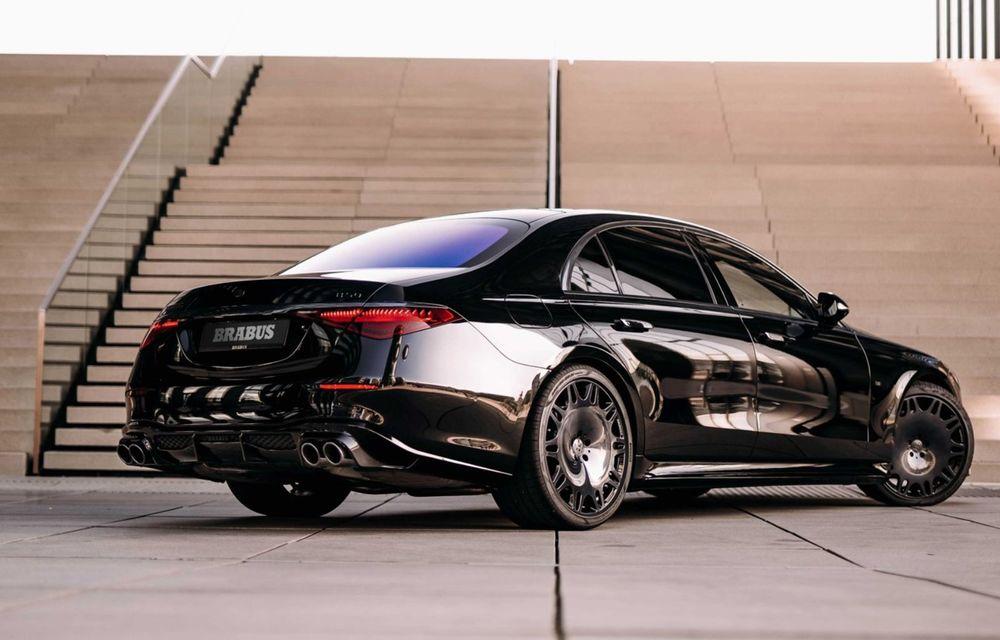 Brabus semnează primul pachet de modificări pentru noul Mercedes-Benz Clasa S - Poza 4