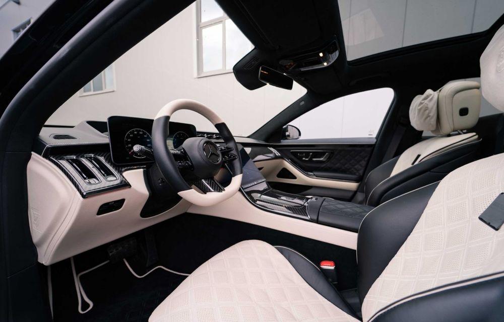 Brabus semnează primul pachet de modificări pentru noul Mercedes-Benz Clasa S - Poza 11