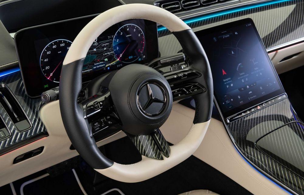 Brabus semnează primul pachet de modificări pentru noul Mercedes-Benz Clasa S - Poza 13