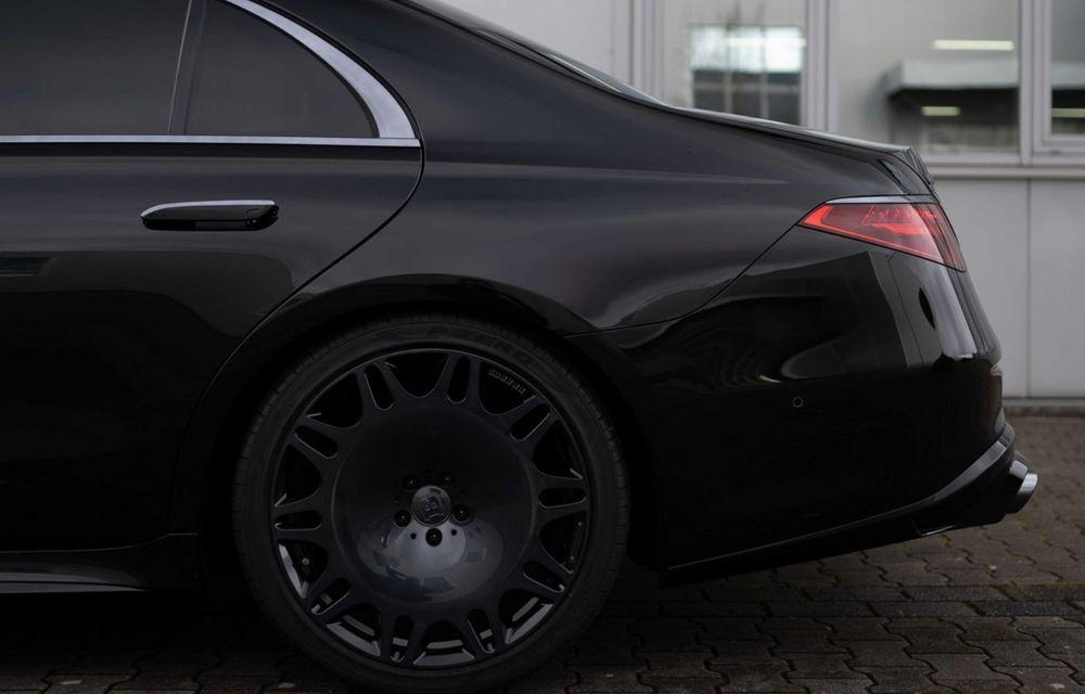 Brabus semnează primul pachet de modificări pentru noul Mercedes-Benz Clasa S - Poza 6