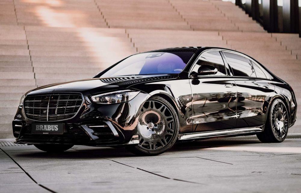 Brabus semnează primul pachet de modificări pentru noul Mercedes-Benz Clasa S - Poza 1