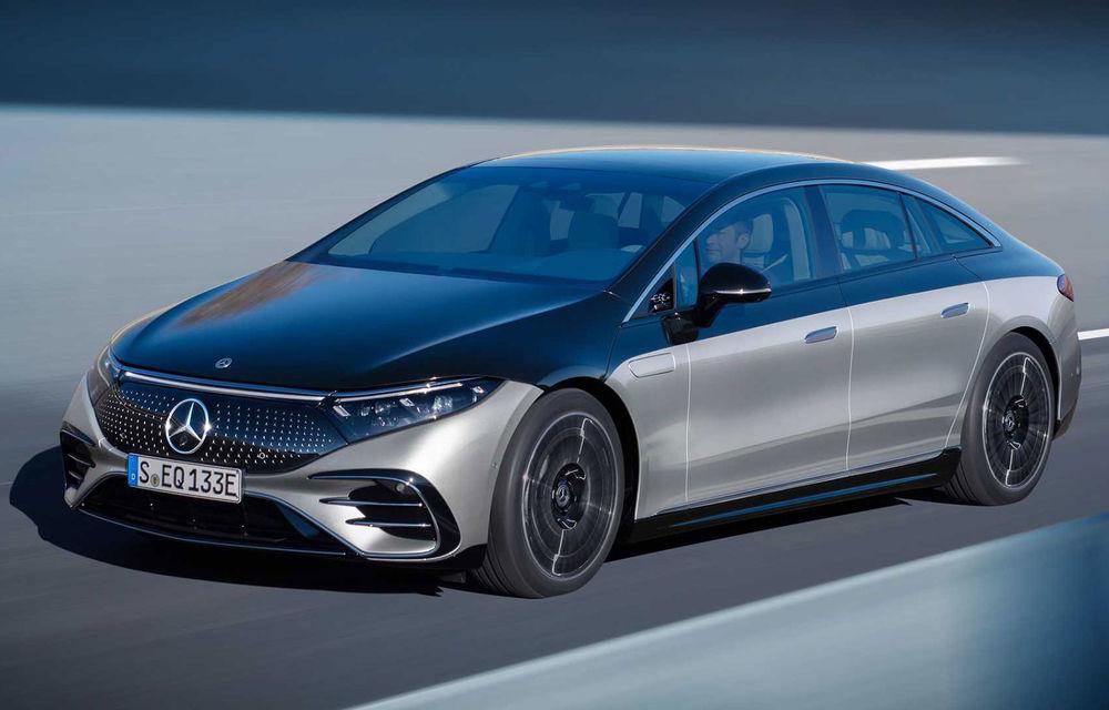 OFICIAL: Noul Mercedes-Benz EQS - limuzina electrică are uși care se deschid singure și 770 de km autonomie - Poza 1
