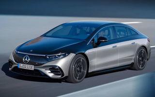 OFICIAL: Noul Mercedes-Benz EQS - limuzina electrică are uși care se deschid singure și 770 de km autonomie