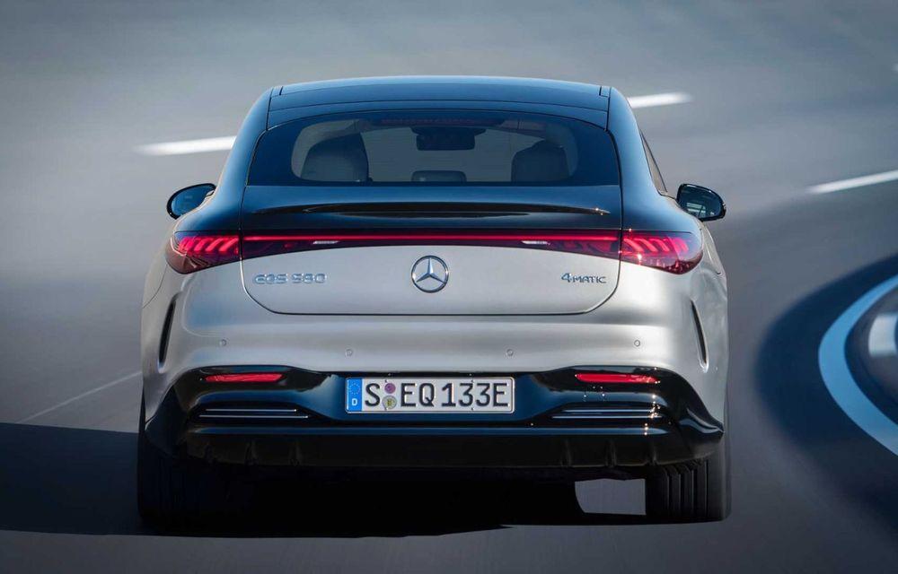 OFICIAL: Noul Mercedes-Benz EQS - limuzina electrică are uși care se deschid singure și 770 de km autonomie - Poza 6