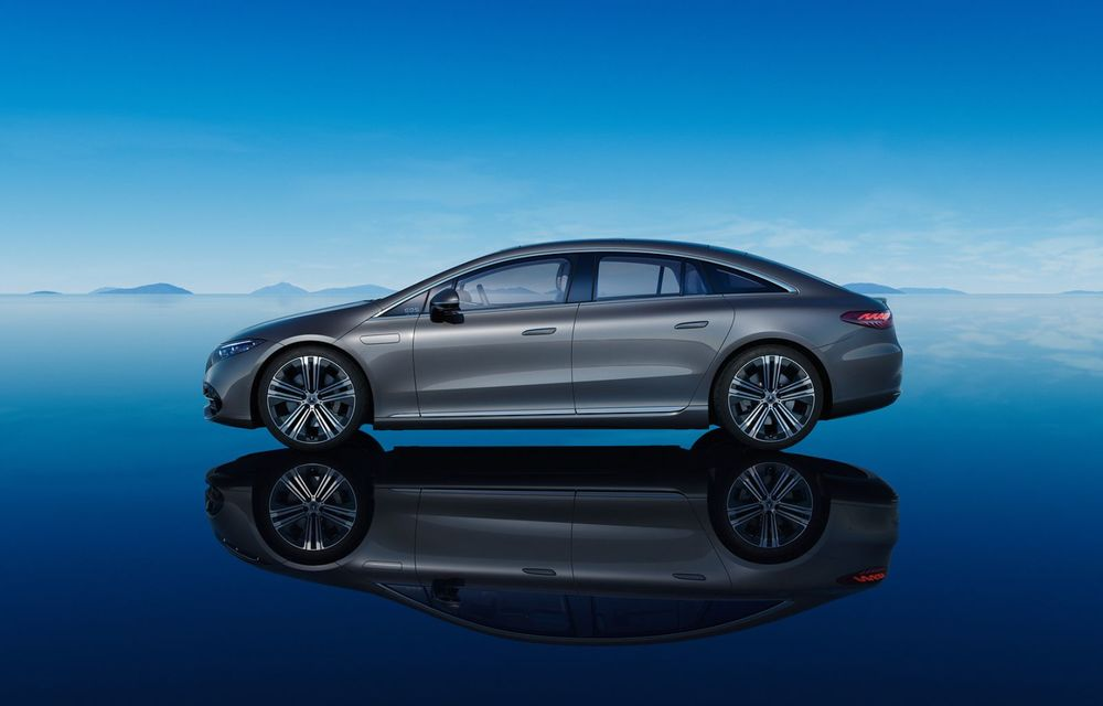 OFICIAL: Noul Mercedes-Benz EQS - limuzina electrică are uși care se deschid singure și 770 de km autonomie - Poza 10