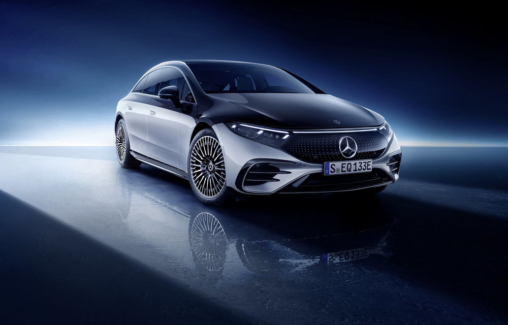 OFICIAL: Noul Mercedes-Benz EQS - limuzina electrică are uși care se deschid singure și 770 de km autonomie - Poza 25