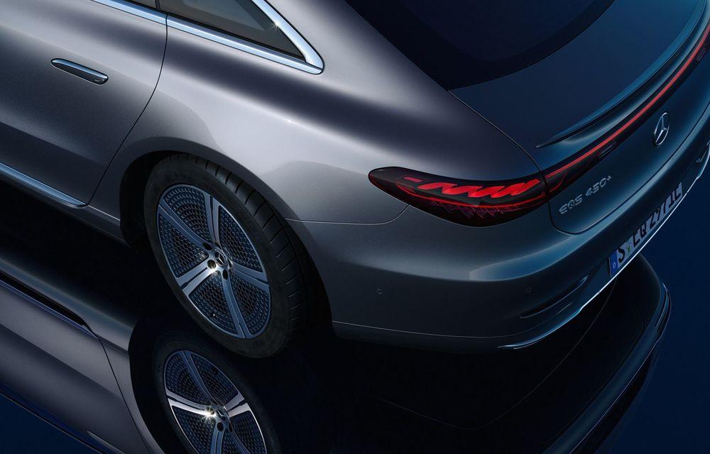OFICIAL: Noul Mercedes-Benz EQS - limuzina electrică are uși care se deschid singure și 770 de km autonomie - Poza 15