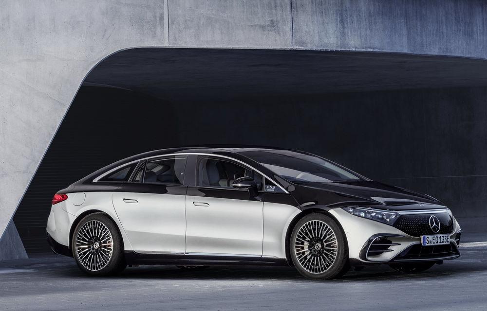 OFICIAL: Noul Mercedes-Benz EQS - limuzina electrică are uși care se deschid singure și 770 de km autonomie - Poza 30