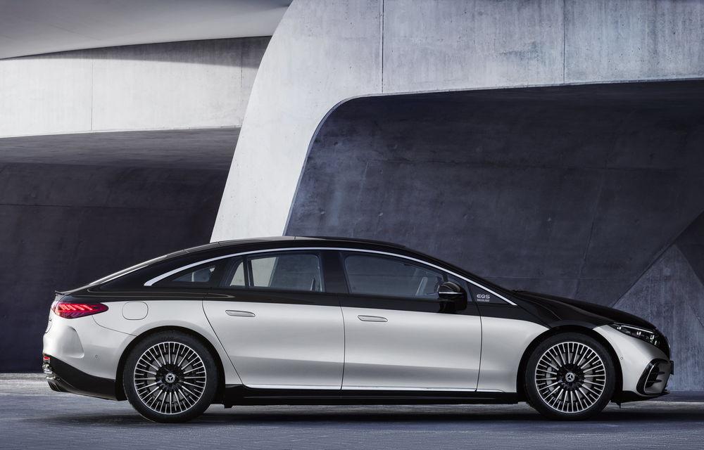 OFICIAL: Noul Mercedes-Benz EQS - limuzina electrică are uși care se deschid singure și 770 de km autonomie - Poza 28