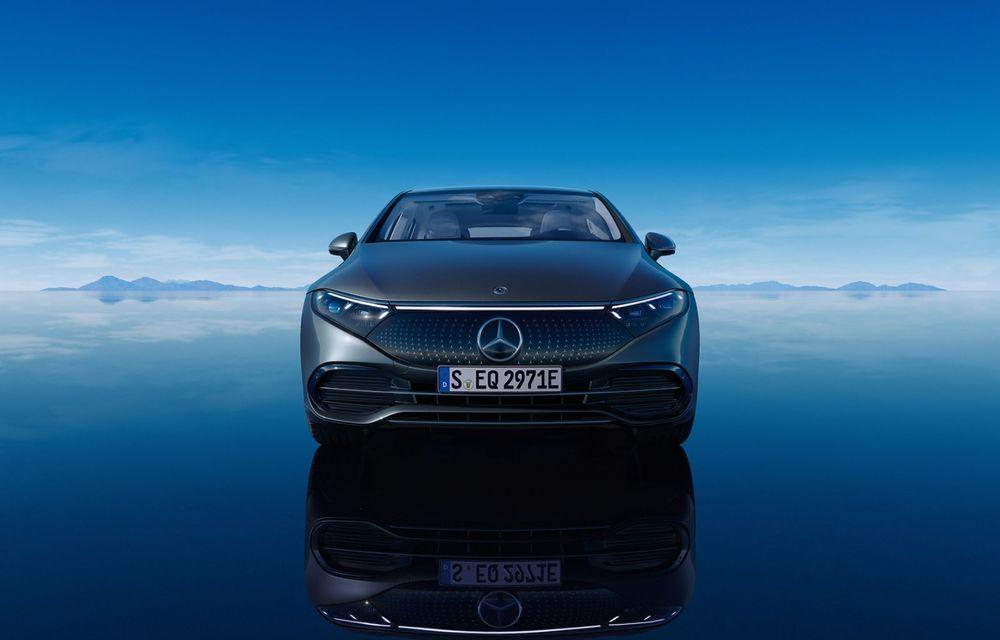 OFICIAL: Noul Mercedes-Benz EQS - limuzina electrică are uși care se deschid singure și 770 de km autonomie - Poza 8