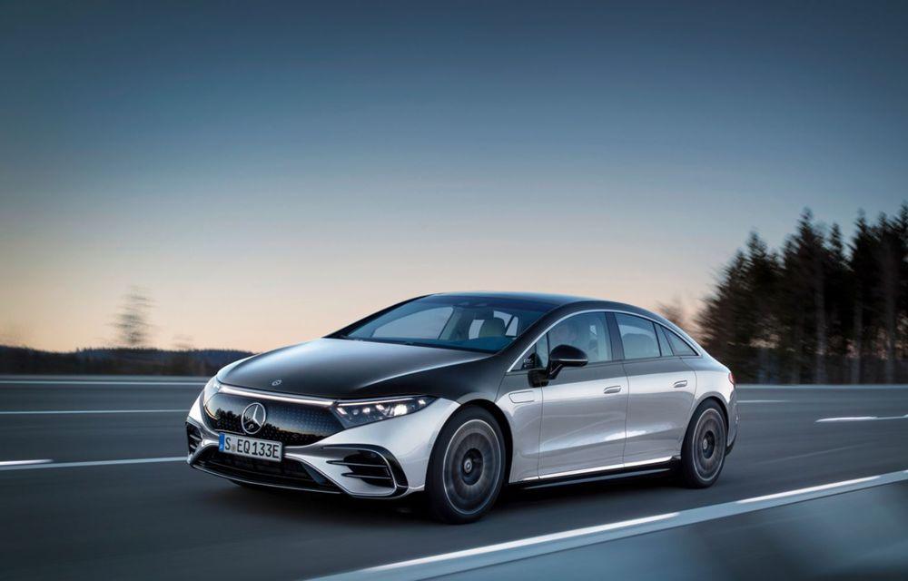 OFICIAL: Noul Mercedes-Benz EQS - limuzina electrică are uși care se deschid singure și 770 de km autonomie - Poza 3