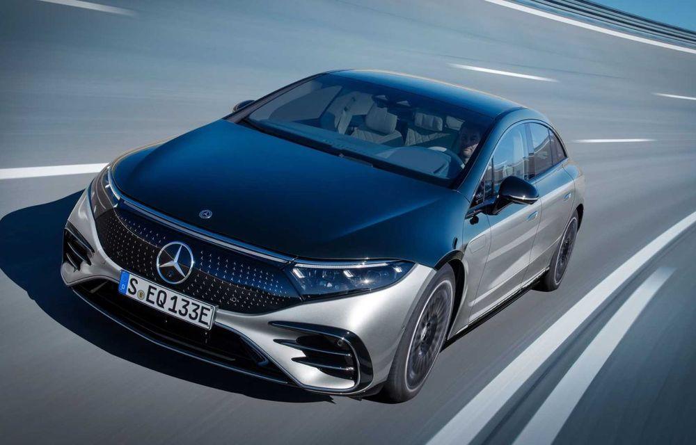 OFICIAL: Noul Mercedes-Benz EQS - limuzina electrică are uși care se deschid singure și 770 de km autonomie - Poza 4