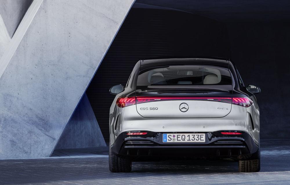 OFICIAL: Noul Mercedes-Benz EQS - limuzina electrică are uși care se deschid singure și 770 de km autonomie - Poza 31