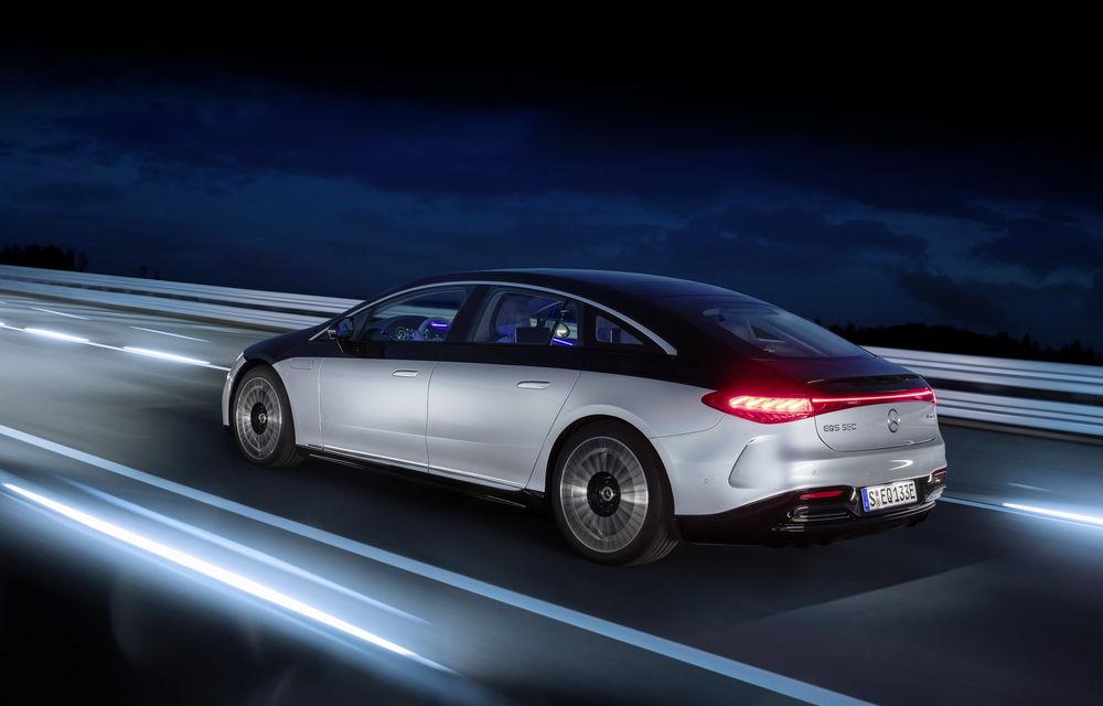 OFICIAL: Noul Mercedes-Benz EQS - limuzina electrică are uși care se deschid singure și 770 de km autonomie - Poza 32