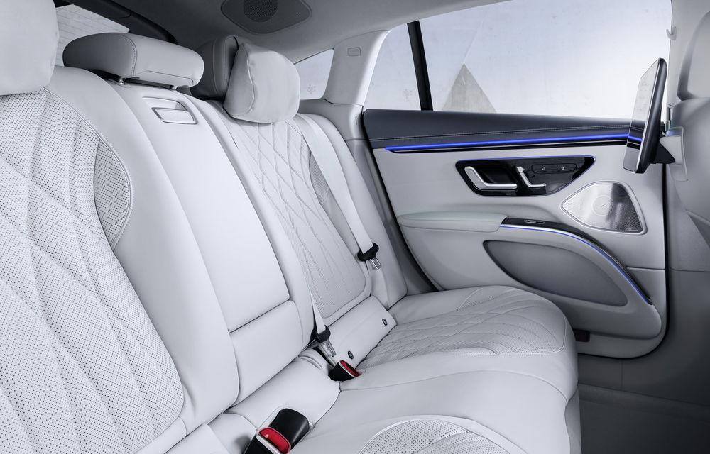 OFICIAL: Noul Mercedes-Benz EQS - limuzina electrică are uși care se deschid singure și 770 de km autonomie - Poza 36