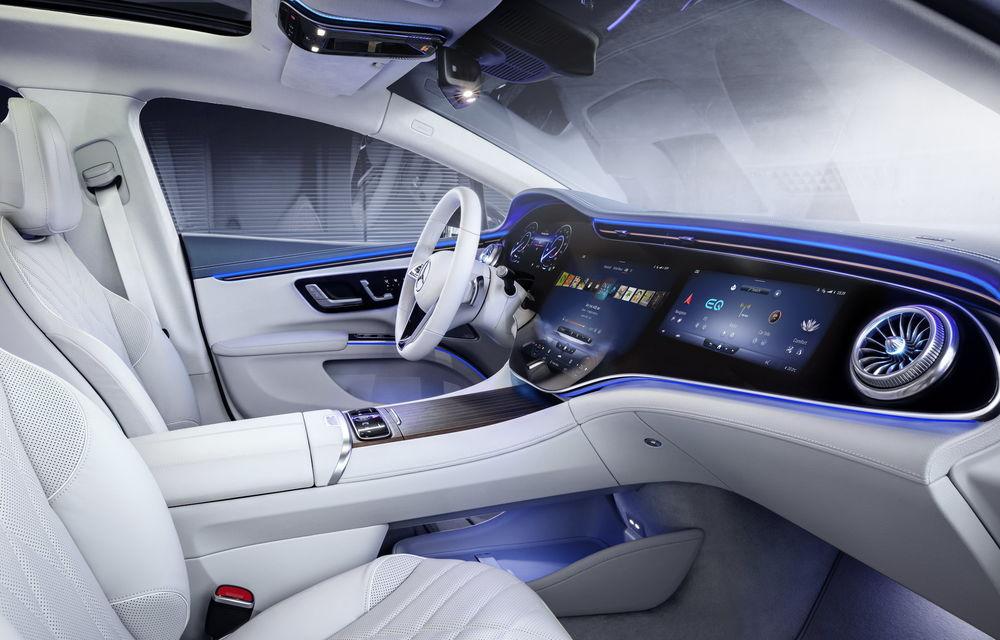 OFICIAL: Noul Mercedes-Benz EQS - limuzina electrică are uși care se deschid singure și 770 de km autonomie - Poza 38
