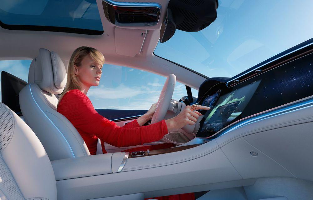 OFICIAL: Noul Mercedes-Benz EQS - limuzina electrică are uși care se deschid singure și 770 de km autonomie - Poza 22