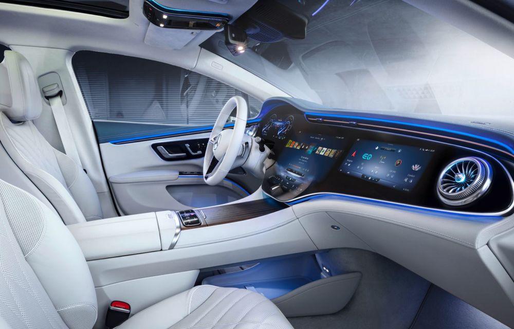 OFICIAL: Noul Mercedes-Benz EQS - limuzina electrică are uși care se deschid singure și 770 de km autonomie - Poza 20