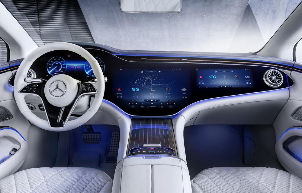 OFICIAL: Noul Mercedes-Benz EQS - limuzina electrică are uși care se deschid singure și 770 de km autonomie - Poza 35