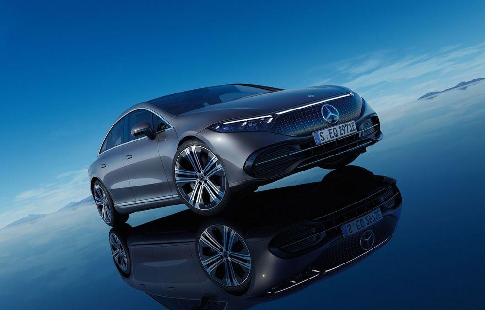 OFICIAL: Noul Mercedes-Benz EQS - limuzina electrică are uși care se deschid singure și 770 de km autonomie - Poza 9