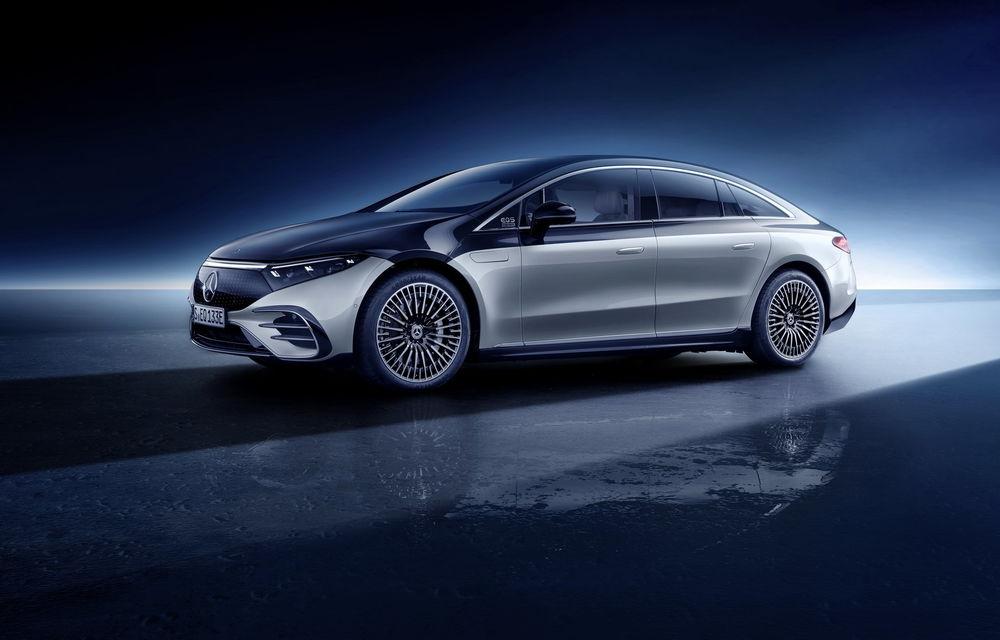 OFICIAL: Noul Mercedes-Benz EQS - limuzina electrică are uși care se deschid singure și 770 de km autonomie - Poza 26