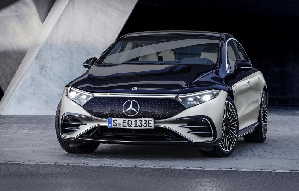 OFICIAL: Noul Mercedes-Benz EQS - limuzina electrică are uși care se deschid singure și 770 de km autonomie - Poza 34