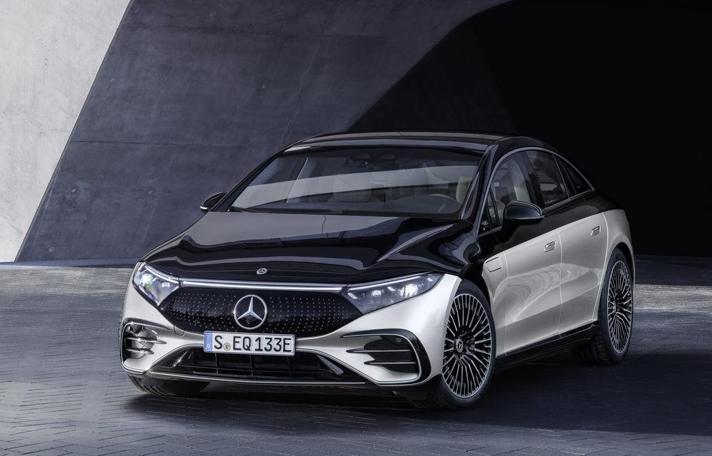 OFICIAL: Noul Mercedes-Benz EQS - limuzina electrică are uși care se deschid singure și 770 de km autonomie - Poza 29
