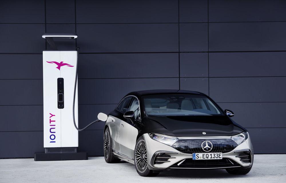 OFICIAL: Noul Mercedes-Benz EQS - limuzina electrică are uși care se deschid singure și 770 de km autonomie - Poza 33