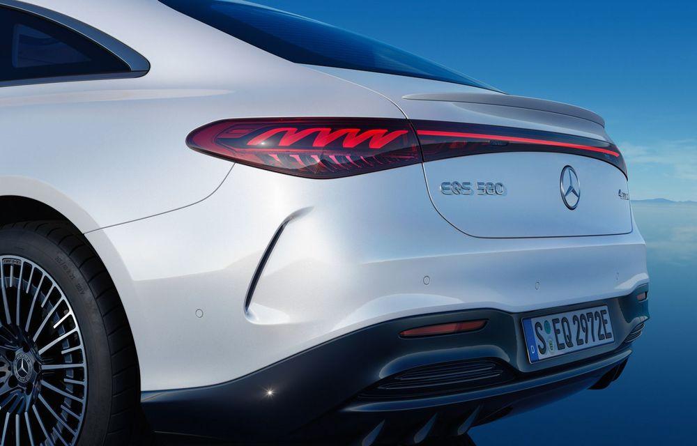OFICIAL: Noul Mercedes-Benz EQS - limuzina electrică are uși care se deschid singure și 770 de km autonomie - Poza 13