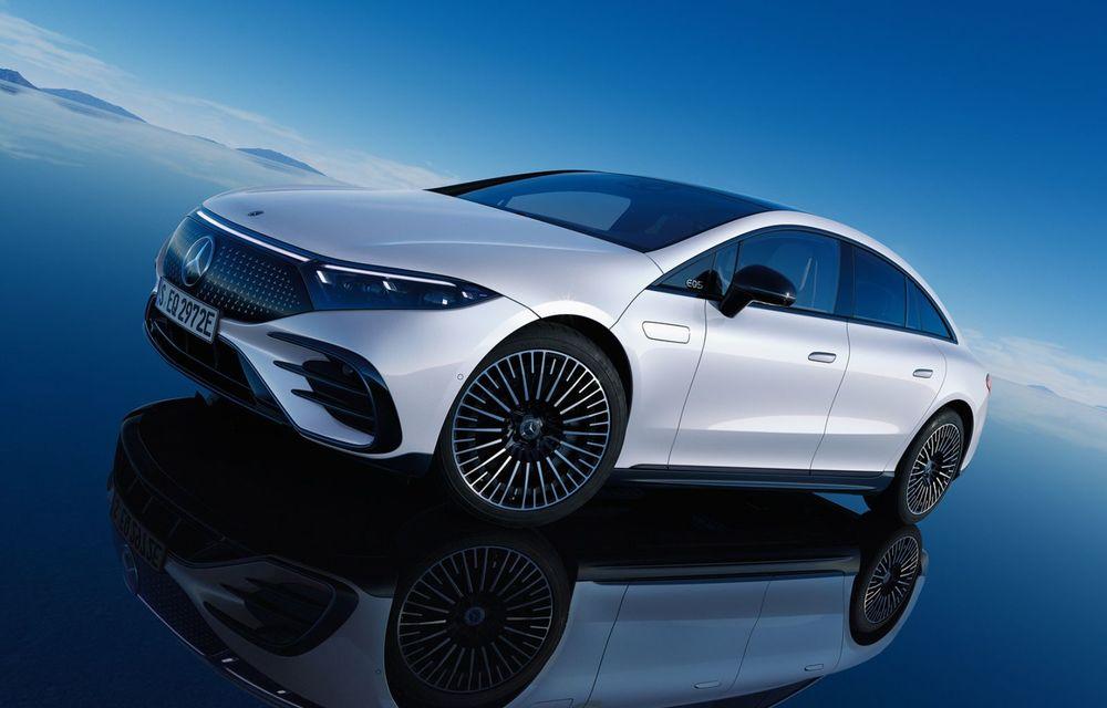 OFICIAL: Noul Mercedes-Benz EQS - limuzina electrică are uși care se deschid singure și 770 de km autonomie - Poza 12