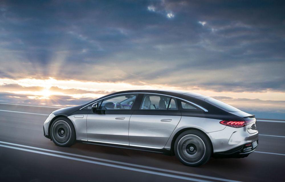 OFICIAL: Noul Mercedes-Benz EQS - limuzina electrică are uși care se deschid singure și 770 de km autonomie - Poza 2
