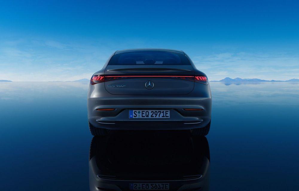 OFICIAL: Noul Mercedes-Benz EQS - limuzina electrică are uși care se deschid singure și 770 de km autonomie - Poza 11