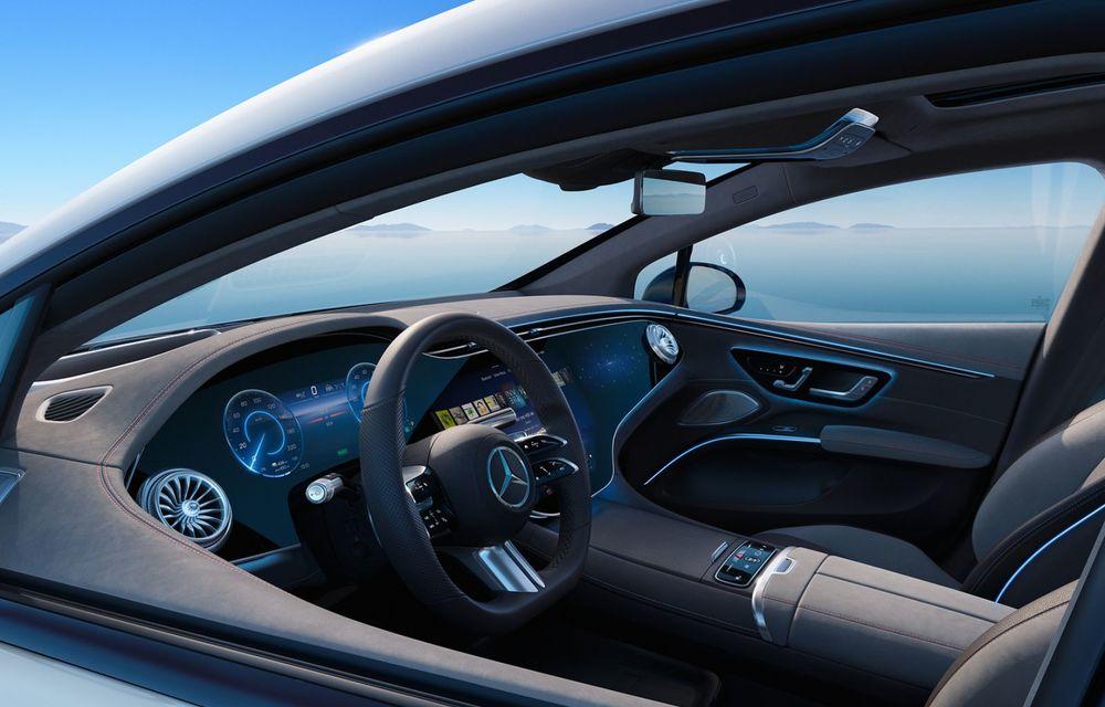 OFICIAL: Noul Mercedes-Benz EQS - limuzina electrică are uși care se deschid singure și 770 de km autonomie - Poza 24